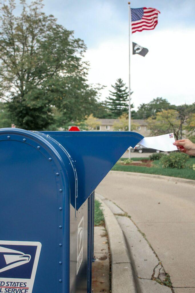 Voto por correio - EUA